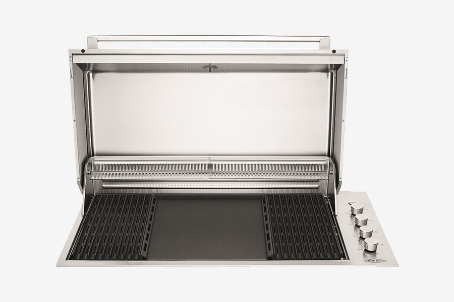 Beefeater Proline 6 Burner with Hood Built In Open
