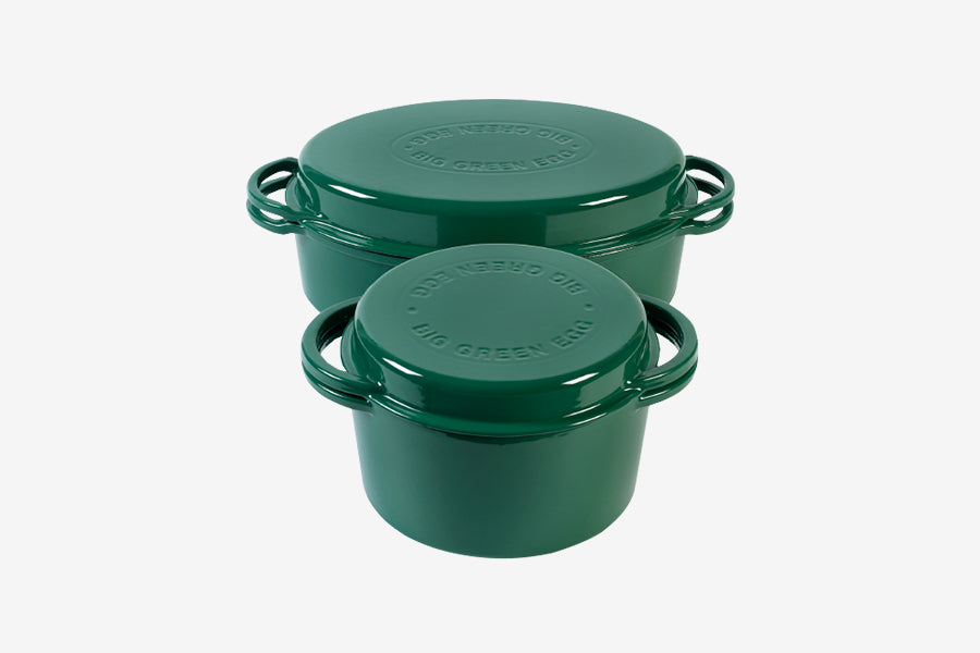 Big Green Egg Enameled 4L Cast Iron Dutch Oven