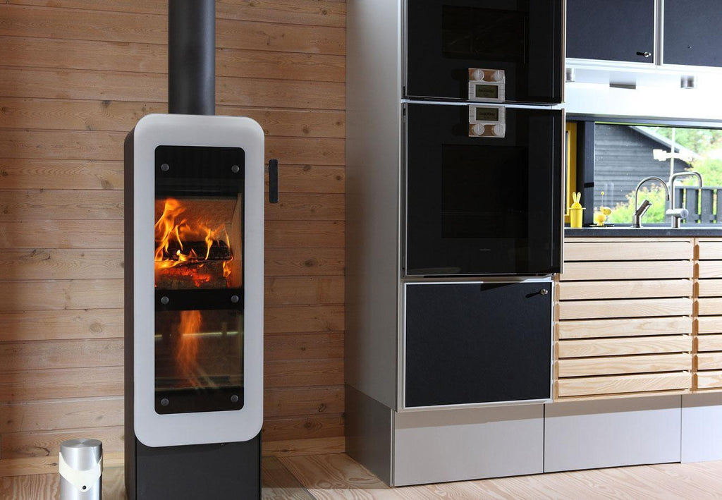 Bionic Fire Freestanding Wood Fire Front