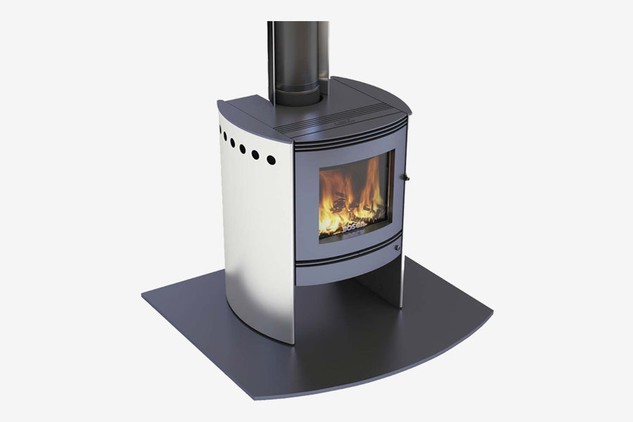 Bosca Spirit 550 Stainless Wood Burner
