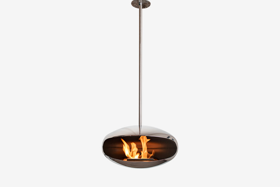 Cocoon Aeris Bioethanol Suspended Fire Clearcut