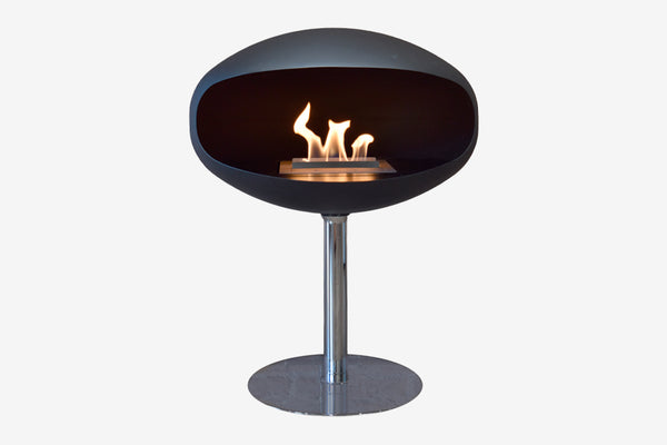 Cocoon Pedestal Bioethanol Suspended Fire Clearcut
