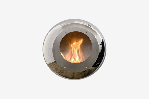 Cocoon Vellum Bioethanol Suspended Fire