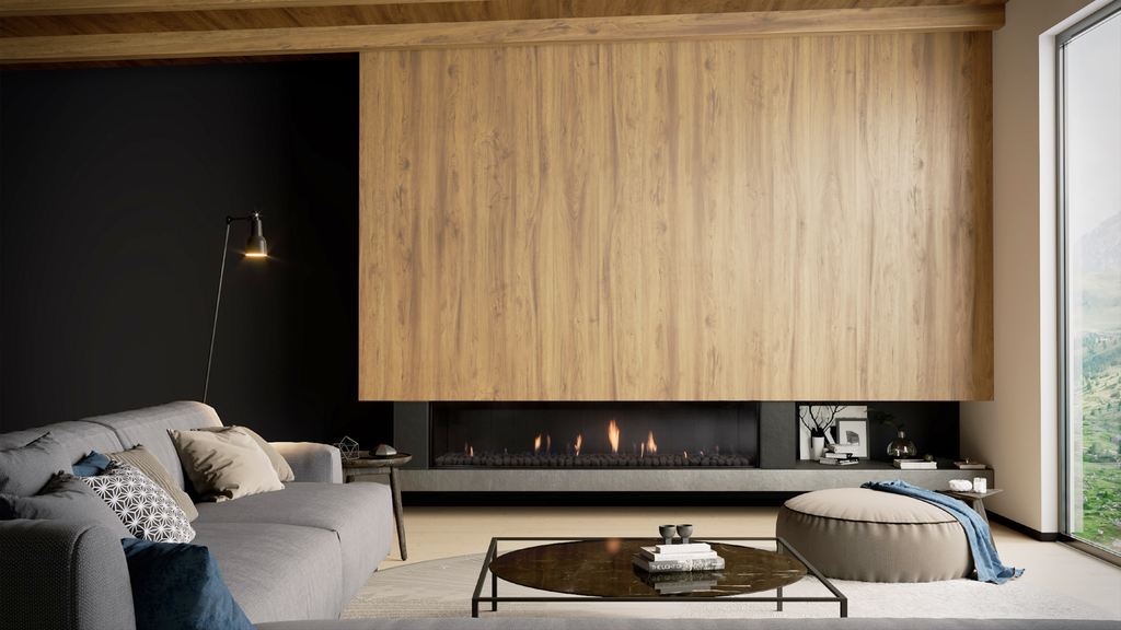Escea DS1900 Single Sided Gas Fire Front