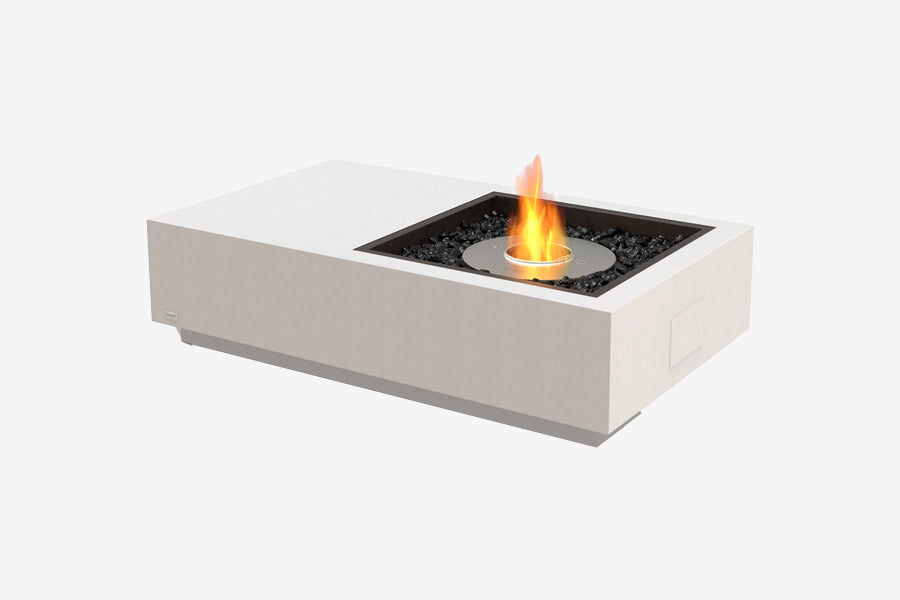 Ecosmart Manhattan Fire Pit Table Bone