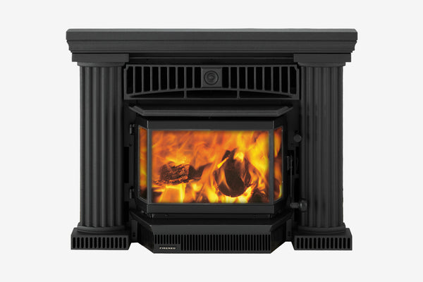 Firenzo Athena Aqualux Inbuilt Wood Fireplace
