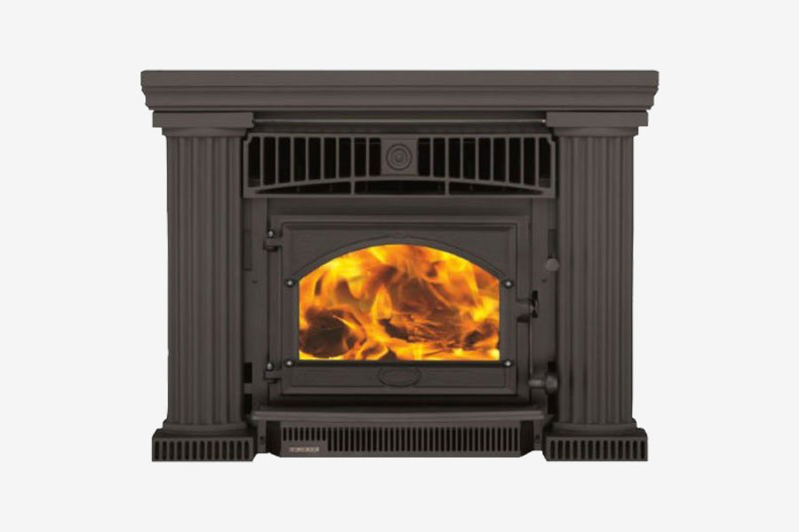 Firenzo Athena Flush Inbuilt Wood Fireplace