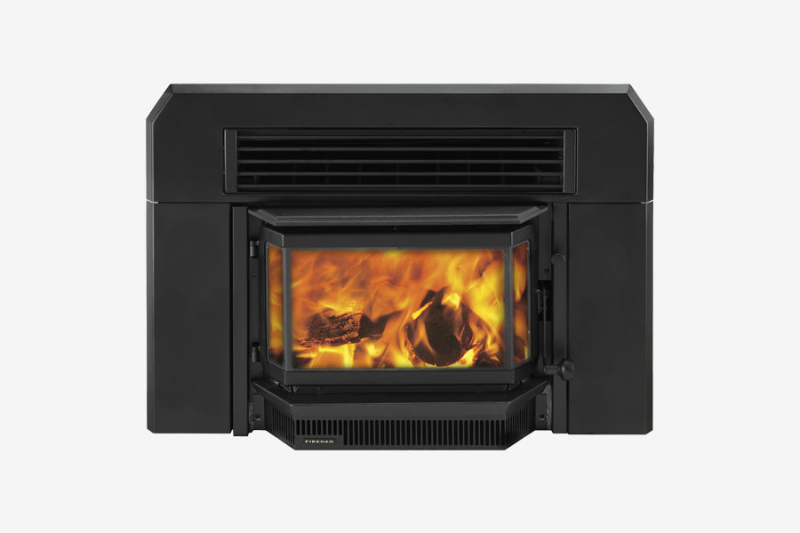 Firenzo Forte Bay Inbuilt Wood Fireplace