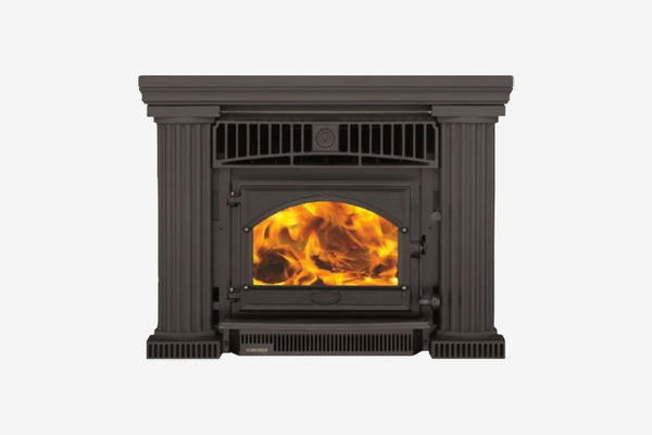 Firenzo Forte Flush Inbuilt Wood Fireplace