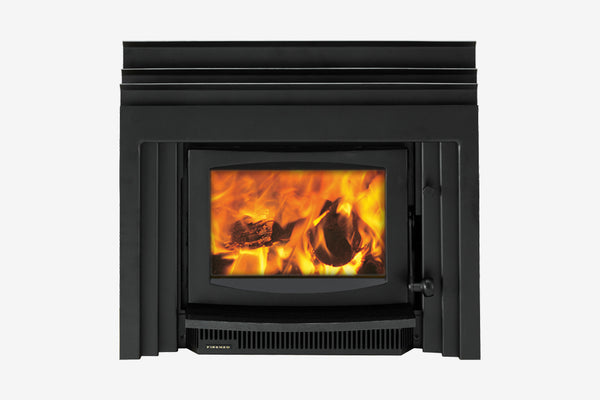 Firenzo Kompact Plaza Inbuilt Wood Fireplace