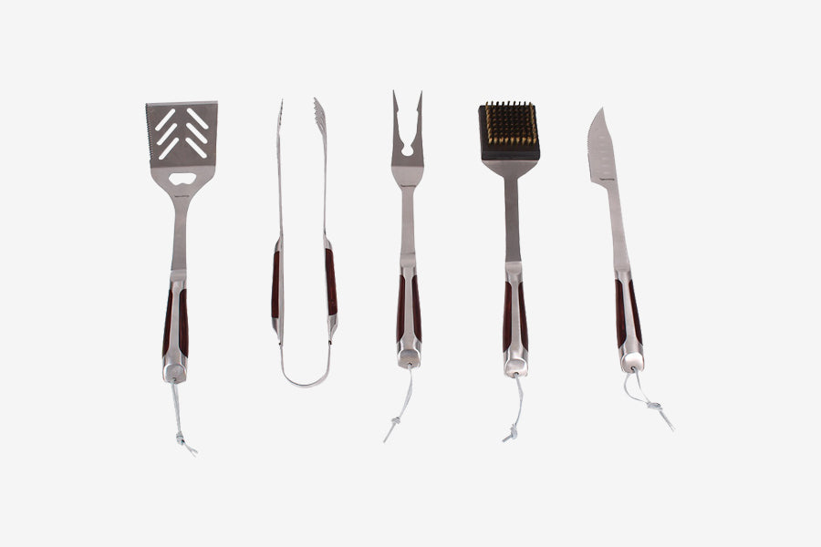 Gasmate 5 piece BBQ Tool Kit
