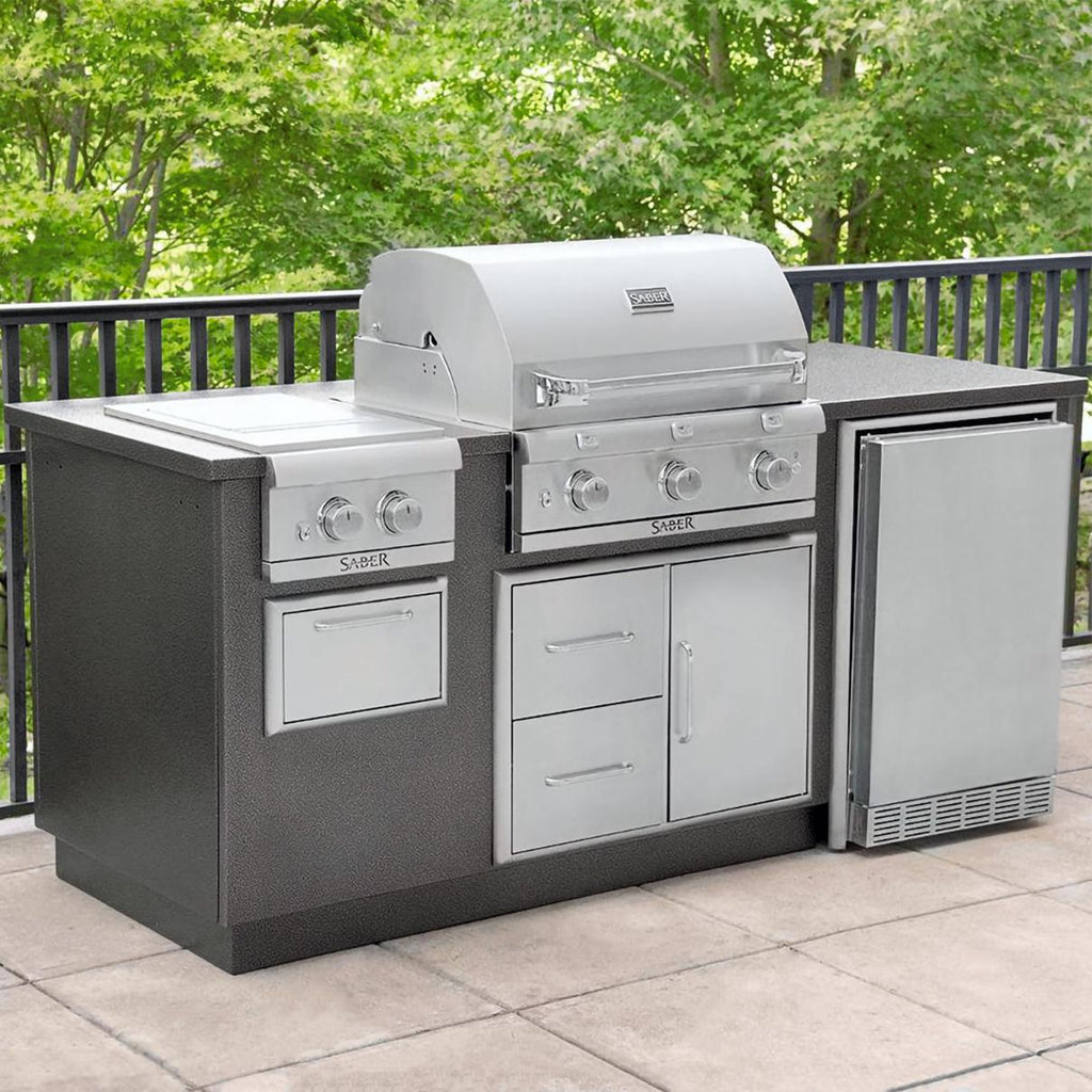 Saber I Series Outdoor Kitchen Front