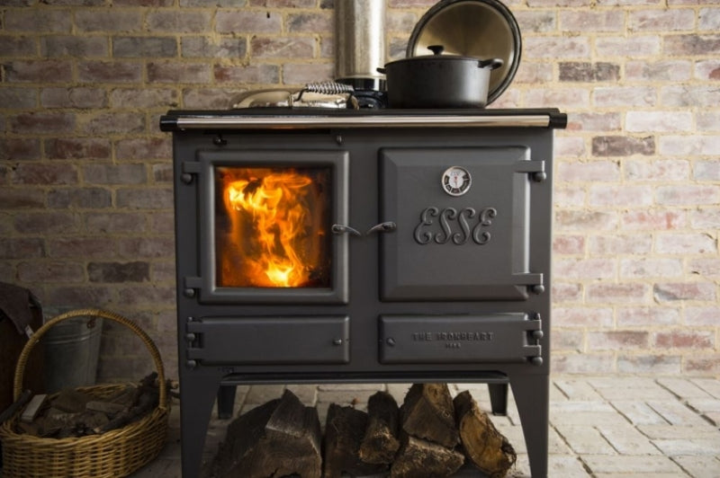 ESSE Ironheart Wood Fire Front