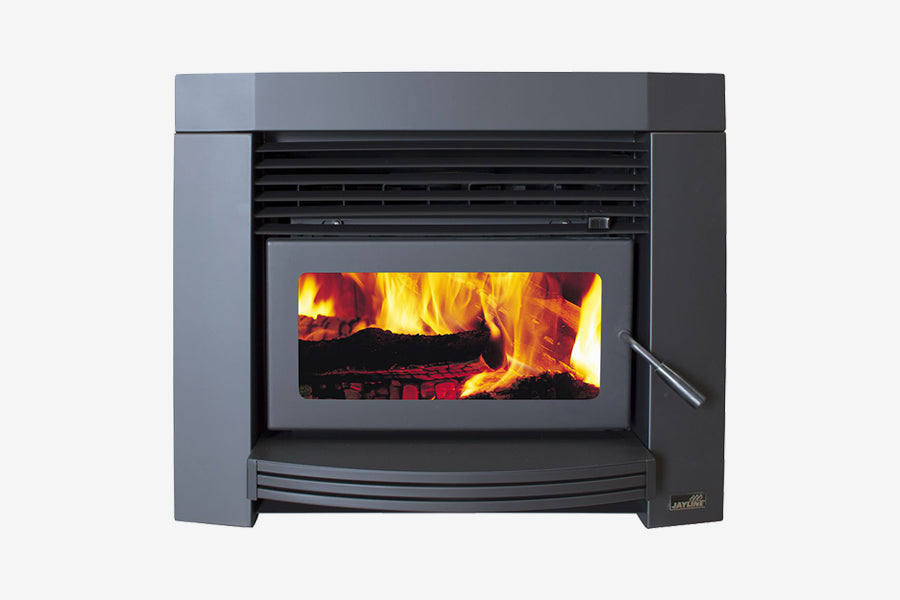 Jayline IS550 Insert Wood Fireplace Clean Air