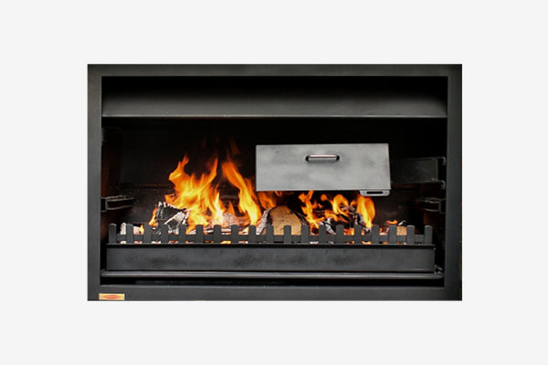 Jetmaster Quadro Outdoor Wood Fire
