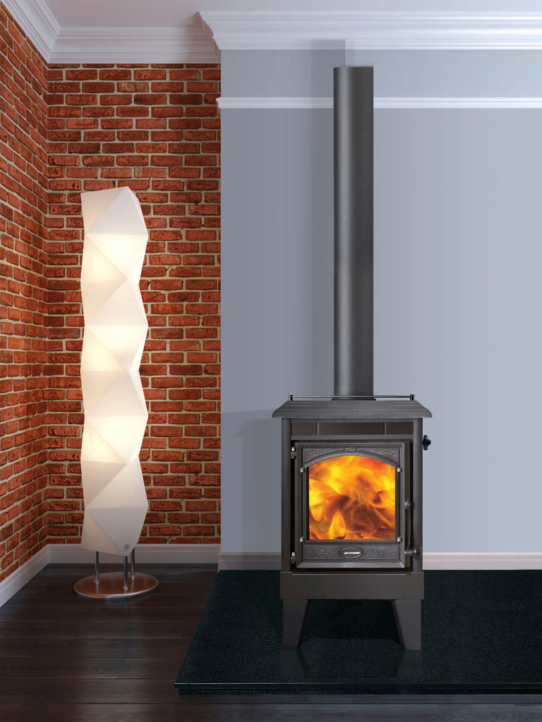 Firenzo Lady Kitchener Urban Wood Burner Front
