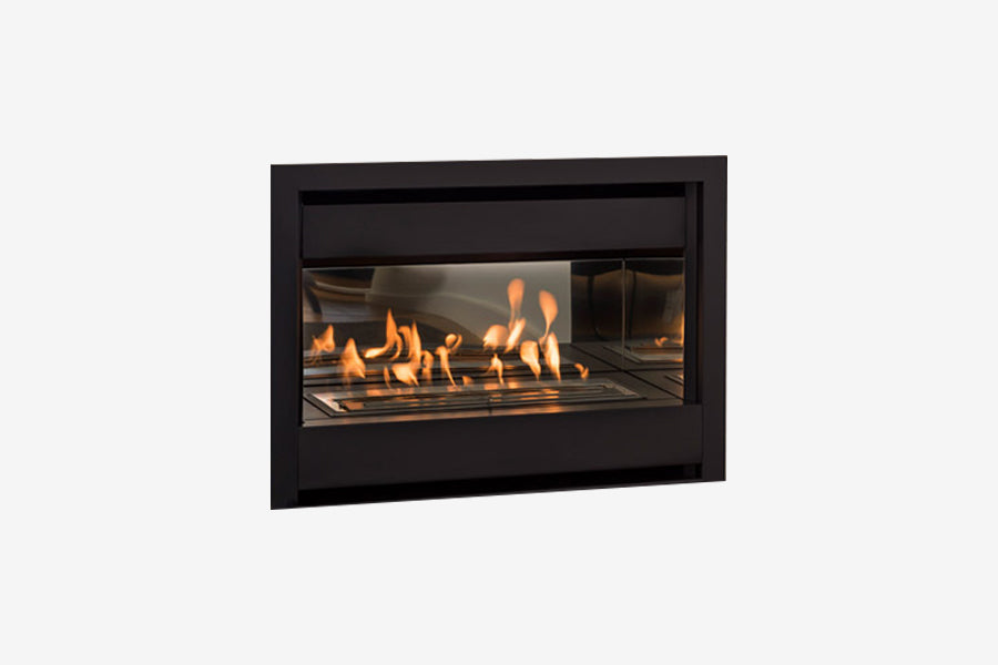 Living Flame Brooklyn Inbuilt Gas Fireplace