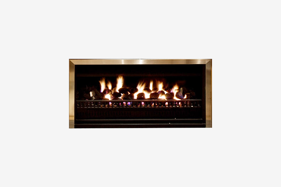 Living Flame Thermoflow Gas Fireplace