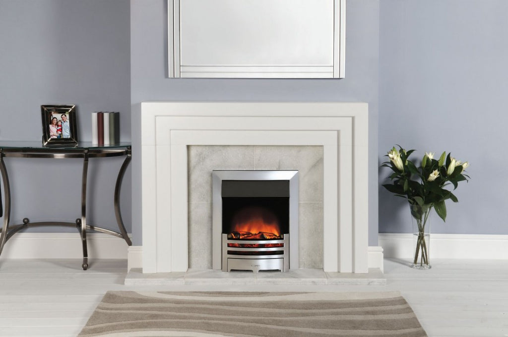 Gazco Logic Electric Fireplace Front