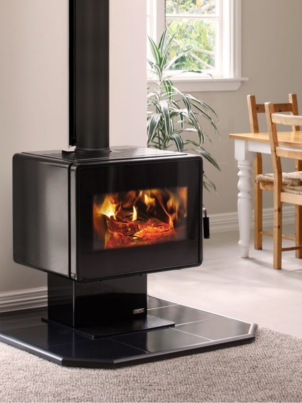 Metro Ambie Plus Wood Burner Front