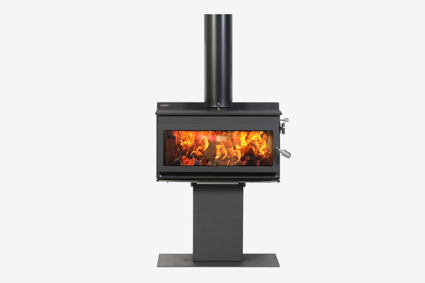 Metro 50P Outdoor Wood Fire Clearcut