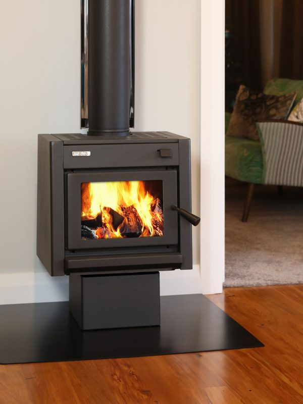 Metro Tiny Ped Wood Burner Front
