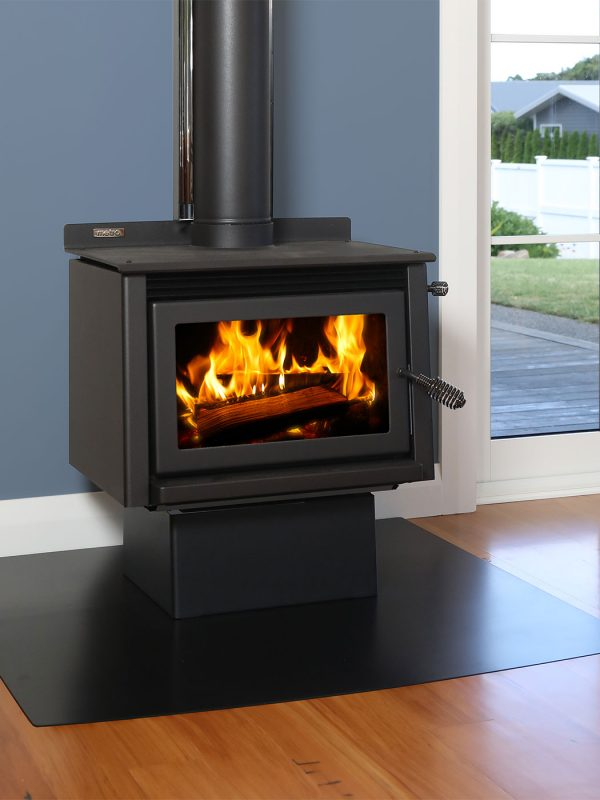 Metro Wee Rad - Base Wood Burner Front