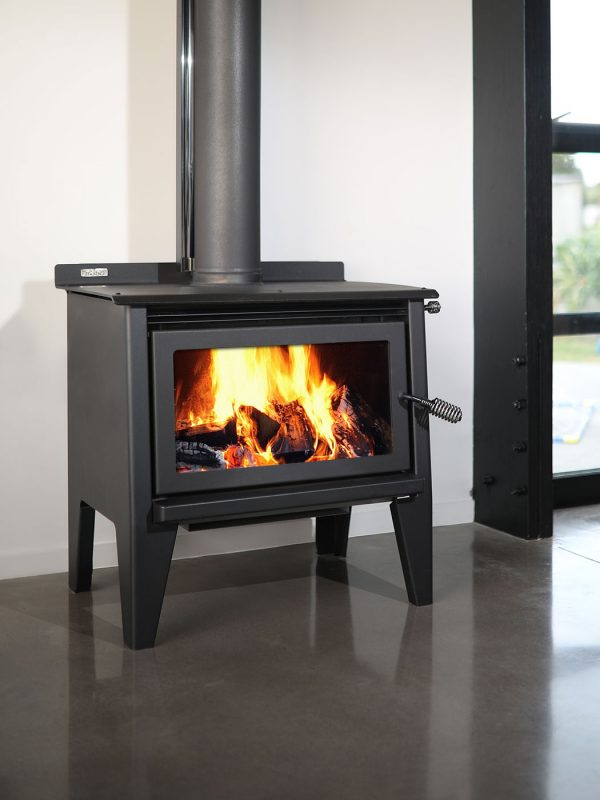 Metro LTD Xtreme Rad Leg Wood Burner Front