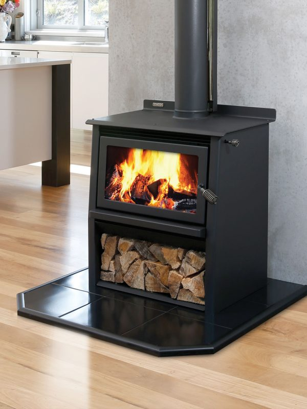 Metro LTD Xtreme Rad Woody Wood Burner Front
