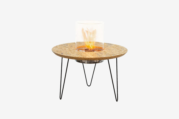 Planika Fire Table Round Bioethanol Fire