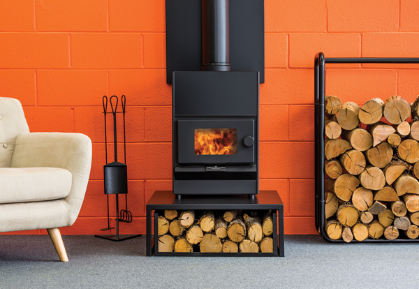 Pyroclassic Mini Wood Burner Front