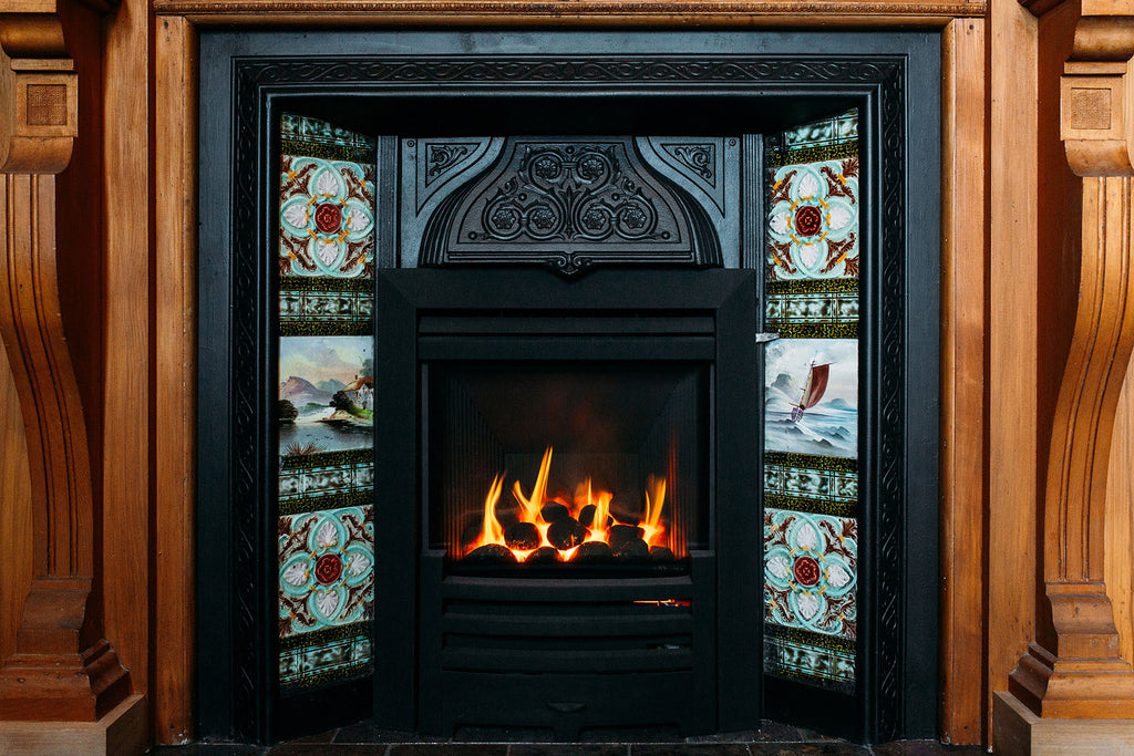 Gazco HE Logic Gas Fire Front