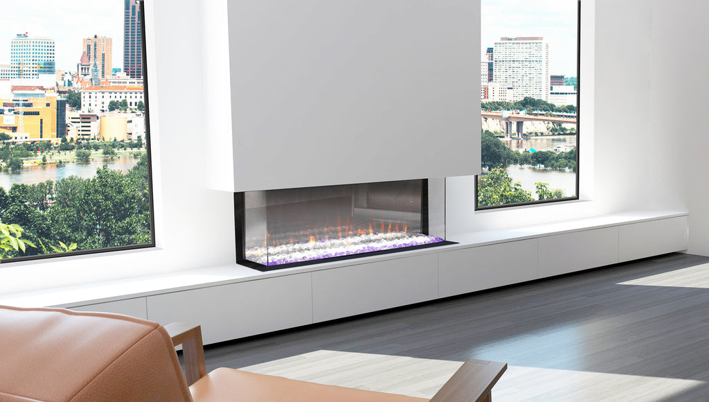 Ambe Multi 49 Electric Fire Side