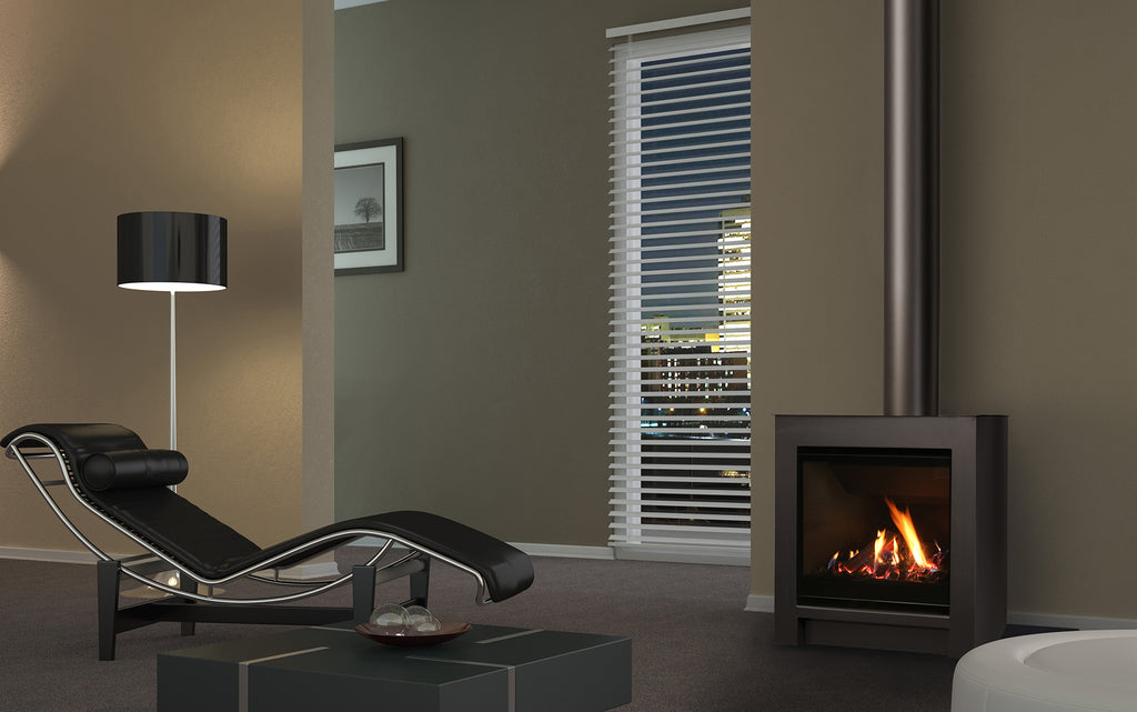 Escea DFS730 Gas Fire Side