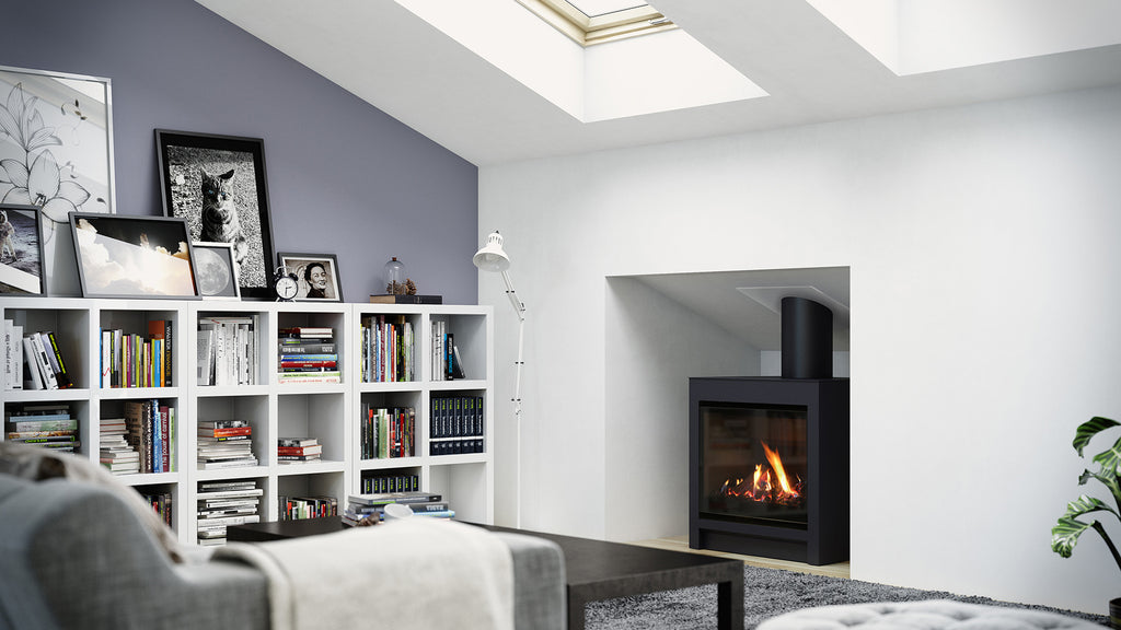 Escea DFS730 Gas Fire Right Side