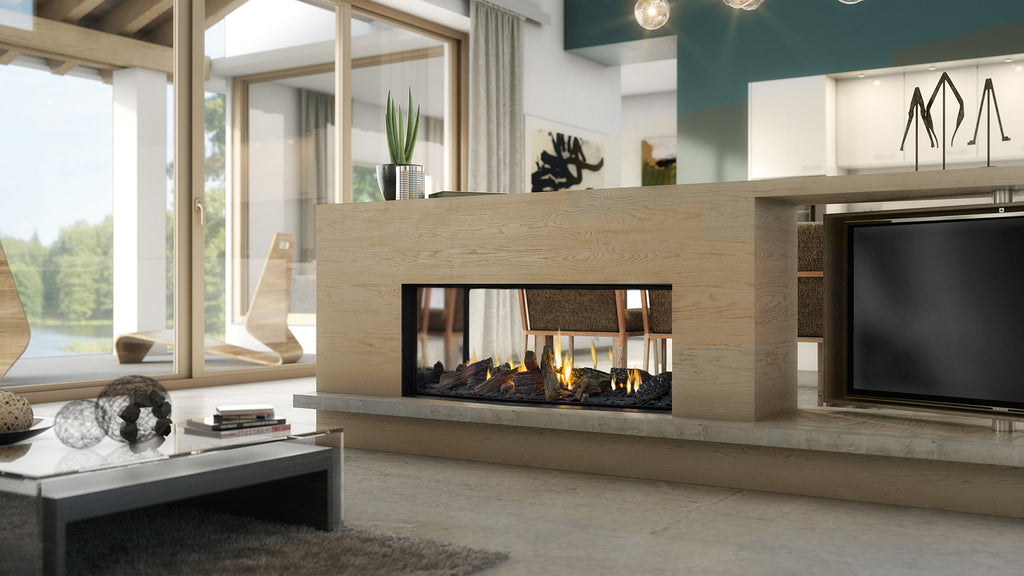Escea DS1150 Double Sided Gas Fire Front