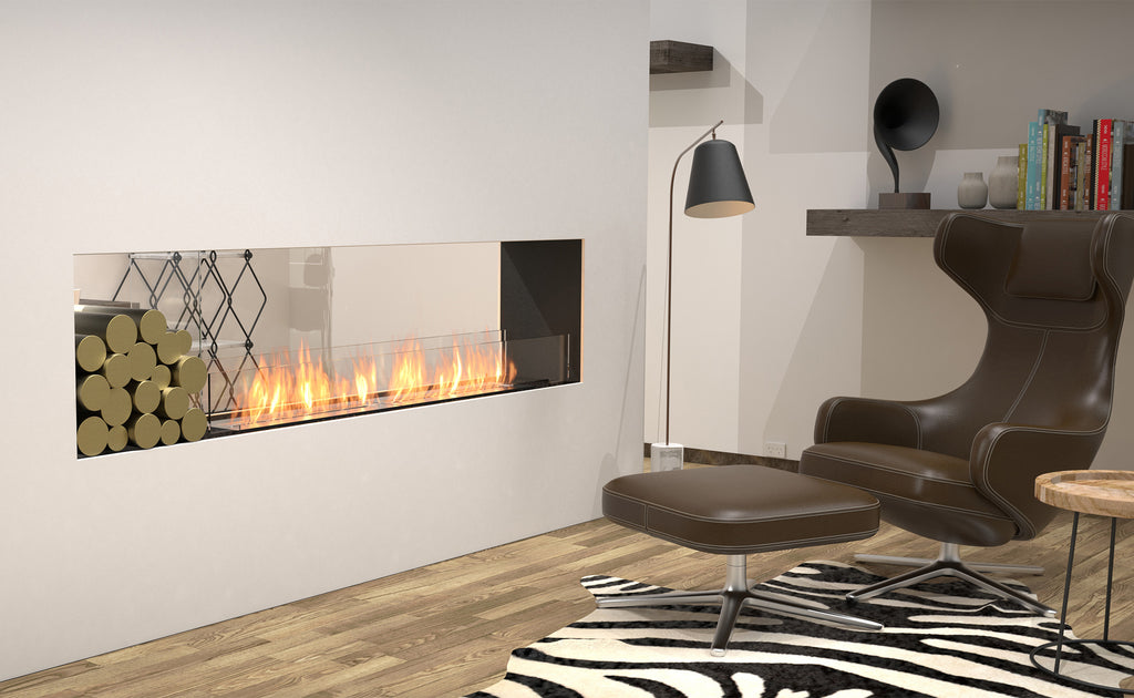 Ecosmart Flex 86DB Double Sided Fireplace Front