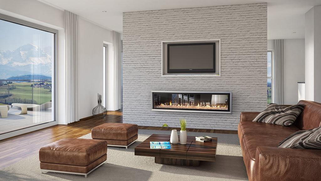 Escea DX1500 Double Sided Gas Fire Front