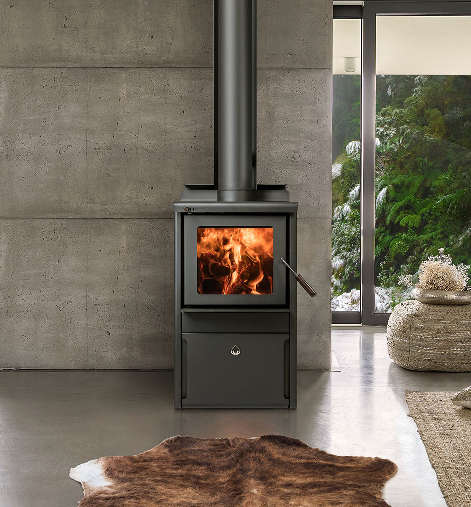 Woodsman Serene Wood Burner Front