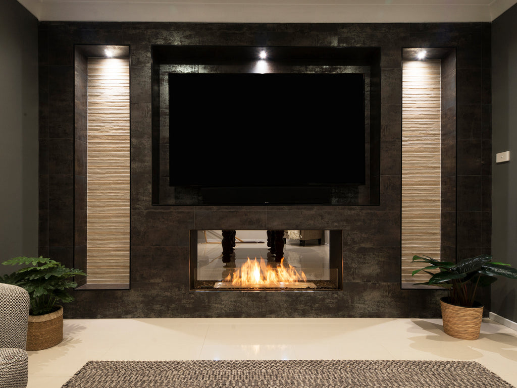 Ecosmart Flex 50DB Double Sided Fireplace Front