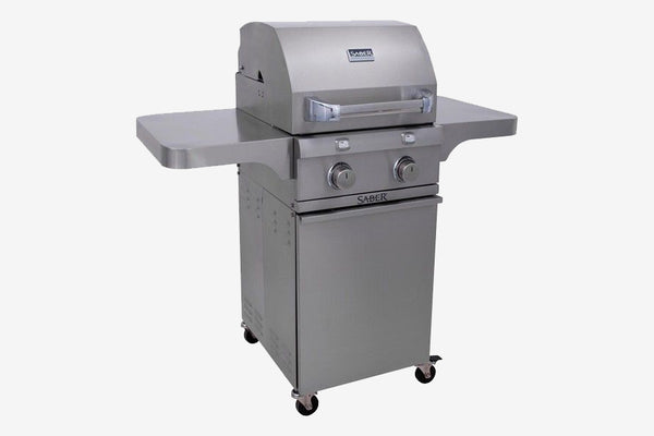 Saber Stainless Steel 2-Burner Gas Grill