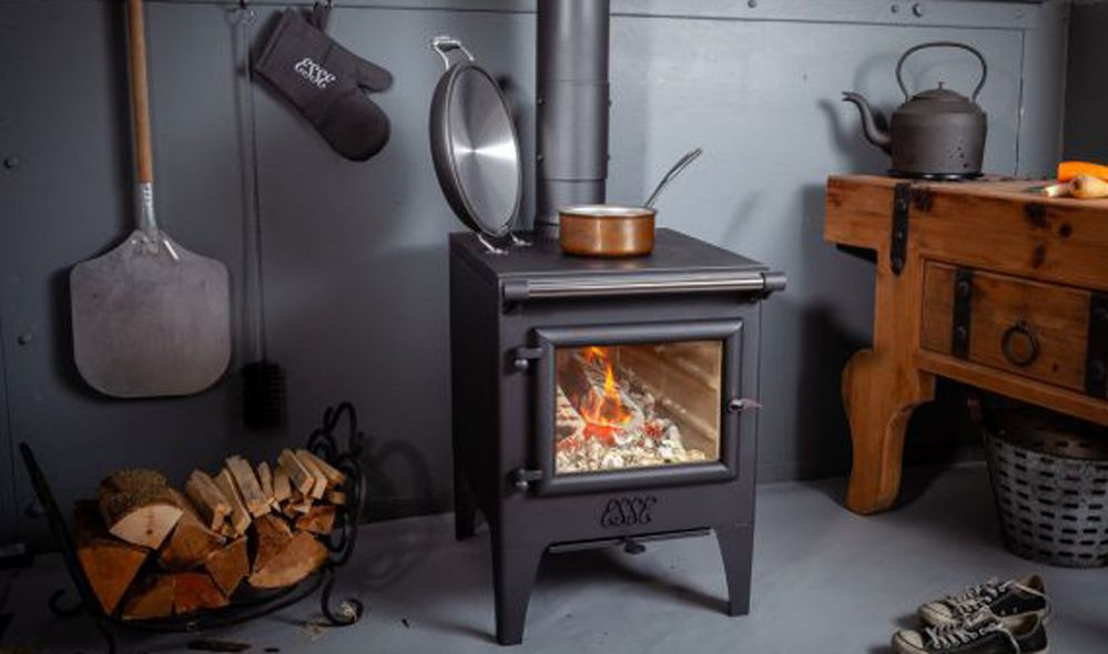 ESSE Warmheart Wood Fire Front
