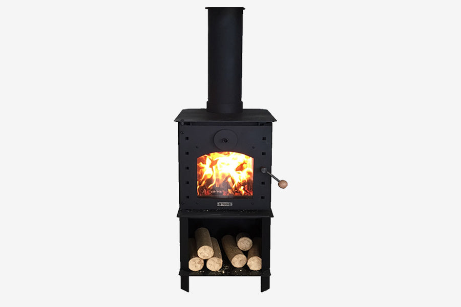 Warmington Studio Freestanding Wood Fire