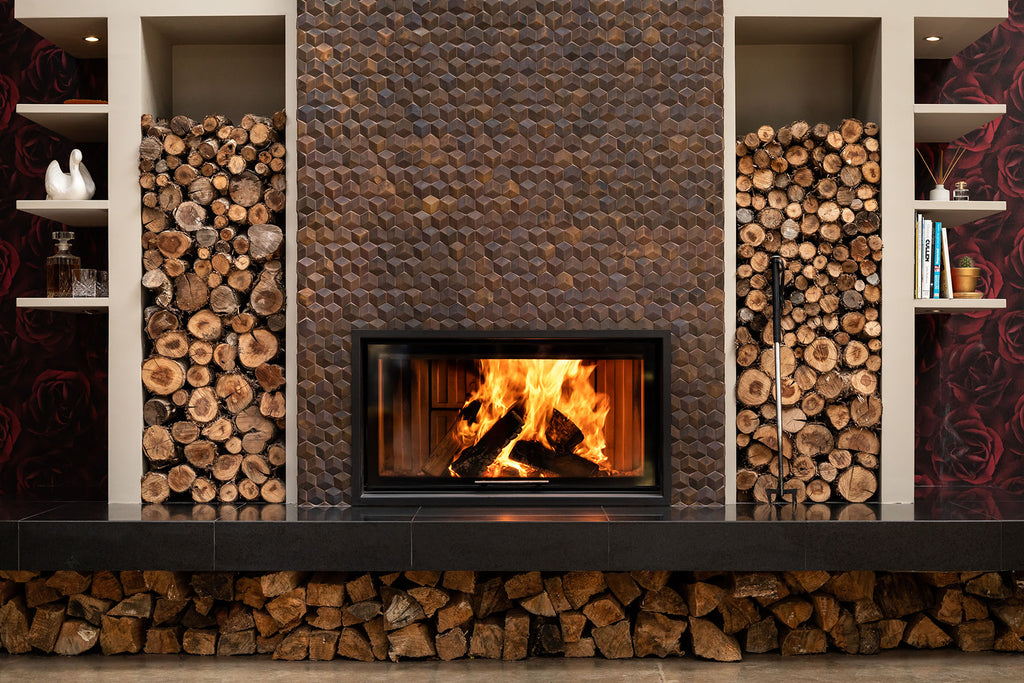 Spartherm Lift XL Inbuilt Wood Fire Front