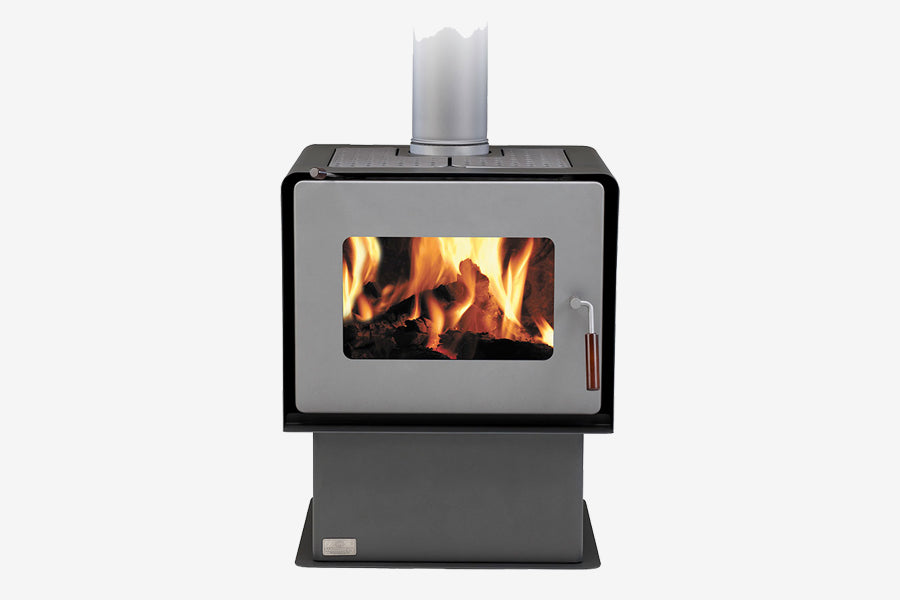 Woodsman Flare Charcoal Pedestal Wood Burner
