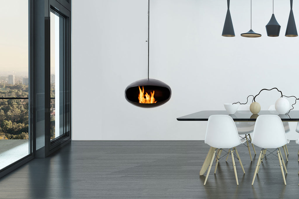 Cocoon Aeris Bioethanol Suspended Fire Front