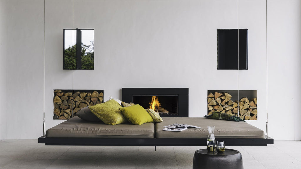 Escea EW5000 Outdoor Wood Fire Lifestyle