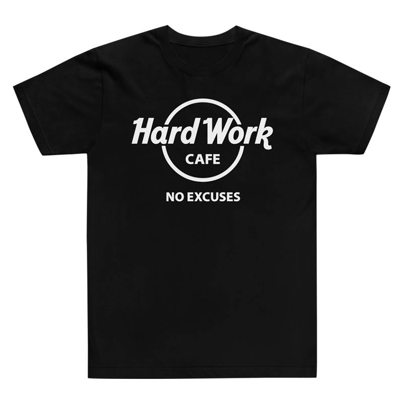 Hard Work Cafe T-Shirt