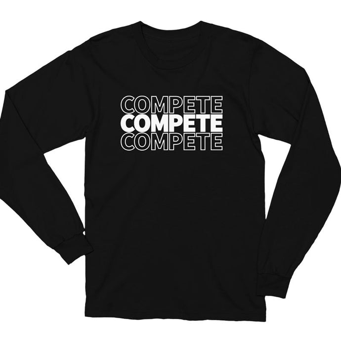 Compete Repeat Long Sleeve Shirt
