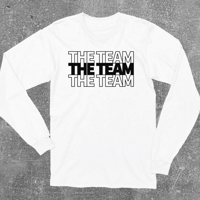 The Team Long Sleeve Shirt - White